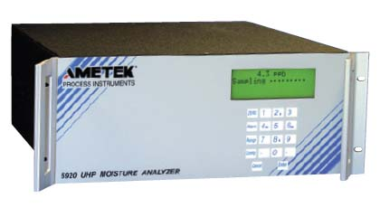 Ametek Process Instruments 5920 UHP Moisture Analyzer