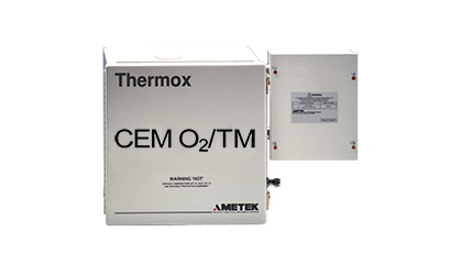 Ametek Thermox CEM Oxygen Analyzer