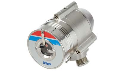 Draeger Flame 2350 - Dual Spectrum Optical Detector for Hydrocarbon Based Fires