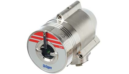 Draeger Flame 2500 - Triple IR Sensor Detects Hydrocarbon Based Fires
