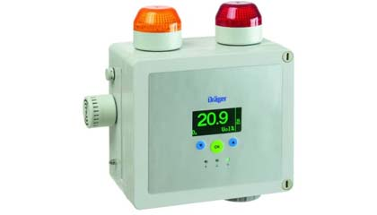 Draeger Point Guard 2000 Series - Self Contained Gas Detection for Continuous Area Monitoring of Toxic of Flammable Gases