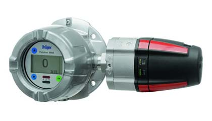 Draeger Detection of Combustible Gases and Vapors Polytron 8700IR