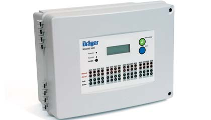 Draeger Regard 3900 Control System for Detection of Toxic, Oxygen and Ex Hazards